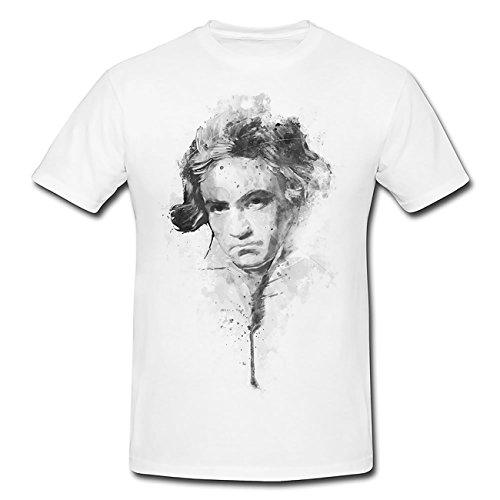 Beethoven T-Shirt Herren, Men mit stylischen Motiv von Paul Sinus