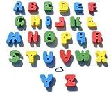 XL Bolt On Alphabet ABC Set l Climbing Holds l Mixed Bright Tones
