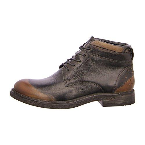 Mjus 303213-0301-6002 - Zapatos de cordones de Piel para hombre Negro - negro