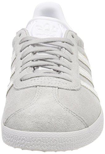 Gimnasia Mujer Footwear White Adidas de 0 Grey White Gris W Zapatillas Gazelle para Footwear YwnqxZBna