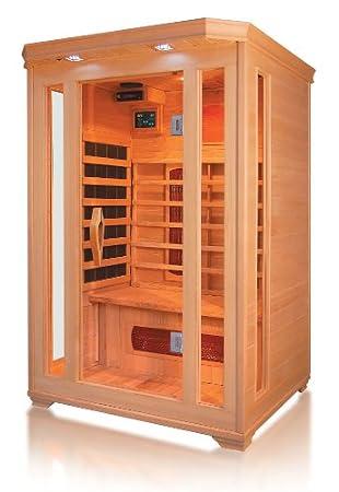 Erstaunlich Infrarotkabine / Wärmekabine / Sauna - ECK ! für 2 Personen  DN75