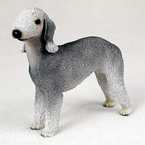 (Ky & Co YesKela Bedlington Terrier Figurine Hand Painted Collectible Statue )