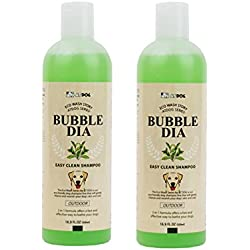 """Alpha Dog Series """"Bubble Dia Shampoo & Conditioner (Easy Clean Shampoo - Pack of 2)"""