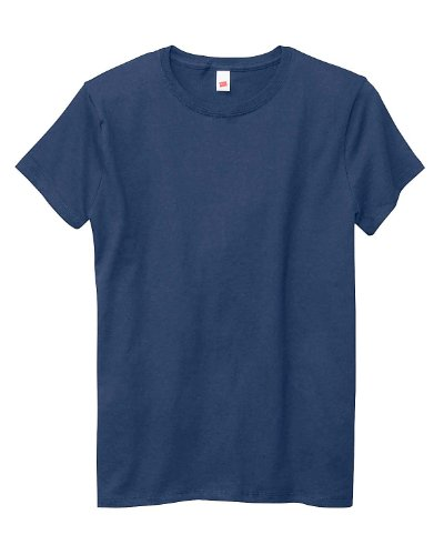 4379bbff03 Hanes Women s Relaxed Fit Jersey ComfortSoft Crewneck T-Shirt-2XL-Navy -  Buy Online in Oman.