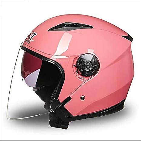 Casco de la Motocicleta de la Ultravioleta-Prueba Visera Moto Casco Doble Visera de Sol