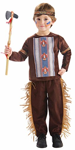 Forum Novelties Native American Brave Costume, Toddler (Toddler Indian Costumes)