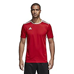 Adidas Men's Soccer Entrada 18 Jersey, Power Redwhite, Large