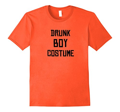 Mens Drunk Boy Costume - Funny Halloween 2017 T-Shirt Large (Halloween Costumes 2017 For Boys)