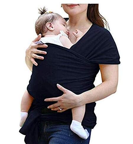 Pañuelo portabebés elástico para recién nacidos y niños pequeños ...