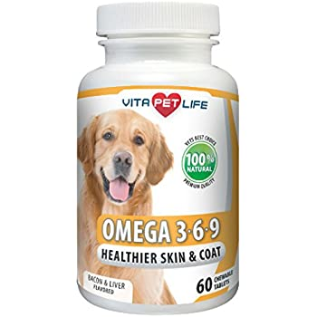 Vitapet omega fish oil powder with epa and for Fish oil dry skin