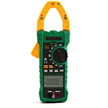Mastech MS2115B True RMS Digital Clamp Meter Multimeter DC AC Voltage Current Ohm Capacitance Frequency Tester with USB