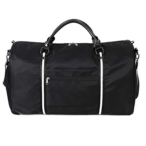 9170fd80aa81 Amazon.com | AmHoo Large Travel Weekender Bag Waterproof Nylon ...