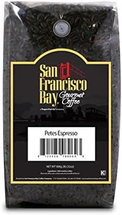 San Francisco Bay Coffee, Pete's Espresso Blend, Whole Bean, 2 Pound (32 Ounce)