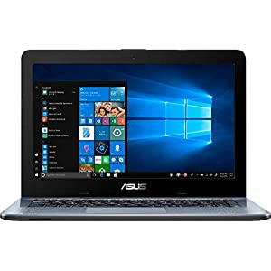 "ASUS 14.0"" HD Widescreen LED Display High Performance Laptop, AMD A6-9225, Webcam, Wireless + Bluetooth , HDMI 1"