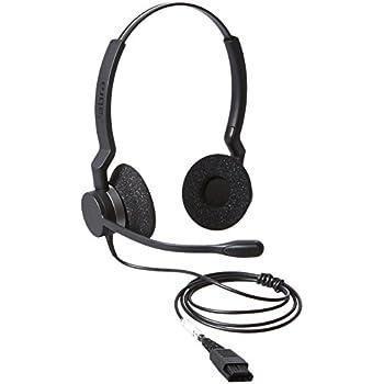 Amazon.com: Jabra BIZ 2325 QD DUO Wired Professional