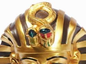Mixed lotusandlime Tutankhamun artificial resin Height 21cm