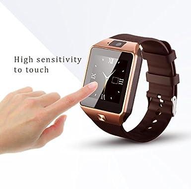 Fantime Relojes Inteligentes Smartwatches Bluetooth Soporte SIM y la Tarjeta del TF para Samsung S5 / Nota 2/3/4, Nexus 6, HTC, Sony y otros Teléfonos ...
