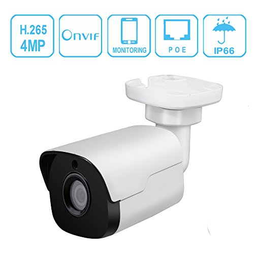 Night Ir Ip Bullet (IP Bullet PoE Security Camera, Unitech WDR Network Mini Bullet Camera IR Night Vision 2560x1440 Surveillance IP Camera 3.6mm Lens IP67 Weatherproof Outdoor Security Camera)