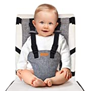 liuliuby Travel Harness Seat – Portable Safety Harness Chair Accessory for Baby & Toddler – Cloth Portable High Chair…