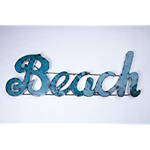 416A7OEmbxL._SS300_ Coastal Metal Wall Art and Beach Metal Wall Decor