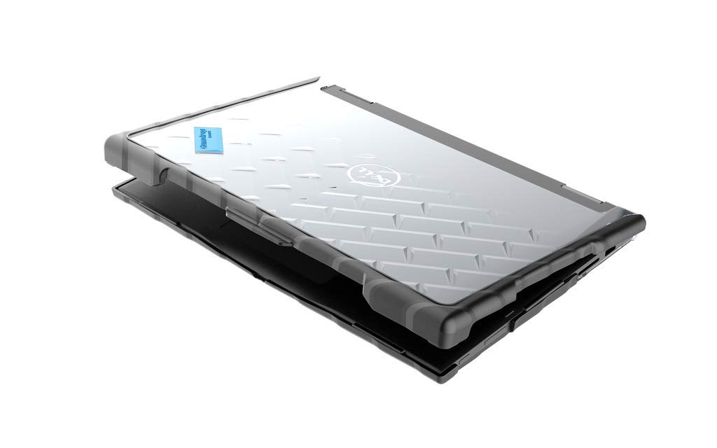 Gumdrop Droptech Case Designed for Dell Latitude 13 3390 2-in-1 Laptop for K-12 Students, Teachers, Kids - Black, Rugged, Shock Absorbing, Extreme Drop Protection by GumDrop (Image #2)