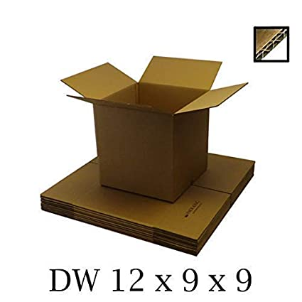 Single Walled A4 Size//Packing Mailing Postal Cardboard Boxes 12x9x9 // 305 x 229 x 229mm Shipping Postage 20 We Can Source It Ltd Mailing Postal