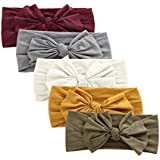 Nylon Newborn Headbands Baby Girl Bow Headband Infant Bows Head Cap Hair Band (ZM13)