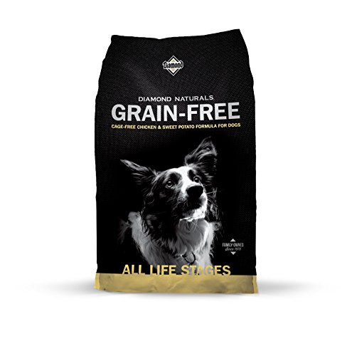 Diamond Naturals Grain Free Real Meat Recipe Natural Dry Dog Food with Real Cage Free Chicken 28lb