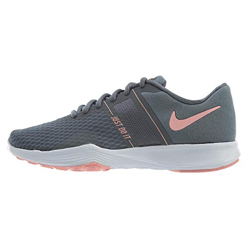 Nike Women's City Trainer 2 Training Shoes (7 B US, Cool Grey/Oracle Pink)