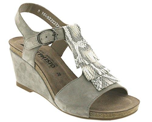 Light Sandales gris 12205 Grey Jenny Mephisto Gris qn0x8B48A