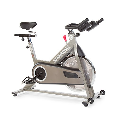 Spinner S7 Indoor Cycling Bike with Four Spinning DVDs, Titanium