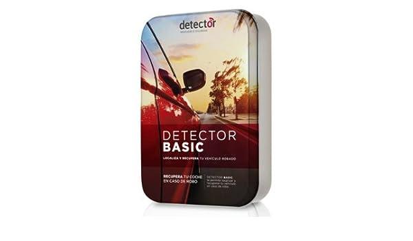 Localizador vehículos robados, esté donde esté - Detector BASIC: Amazon.es: Electrónica