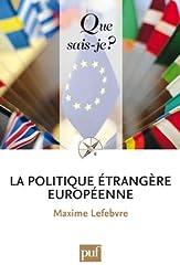 La politique étrangère européenne