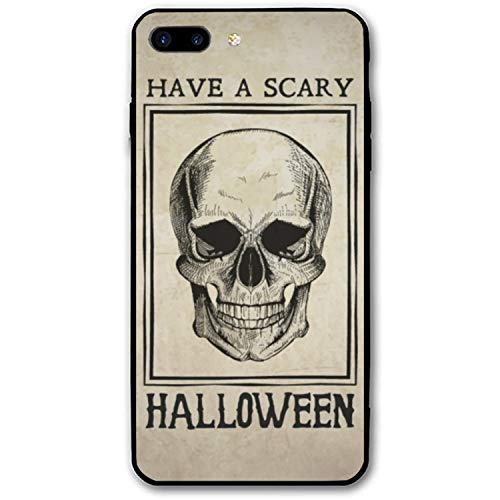 iPhone 8 Plus Case Have A Scary Halloween Printed Hard PC Durable Rubber Protective Case Cover Compatible for iPhone8 Plus 5.5 inch -