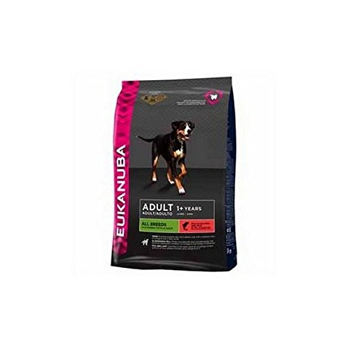 Eukanuba Adult Dog Food Salmon and Rice (12kg) (Pack of 2)