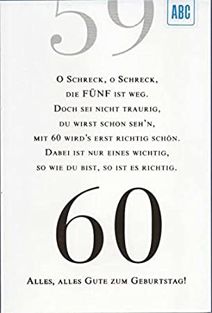 60 geburtstagskarte