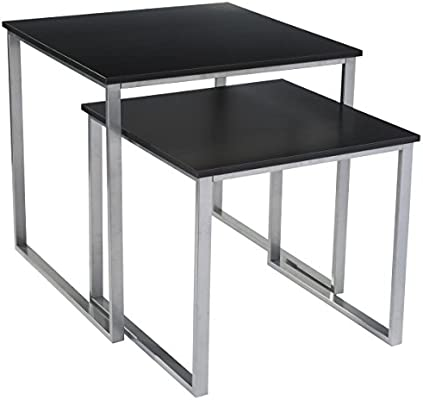 Amazon Com Displays2go Modern Tables With Nesting Design Sold In