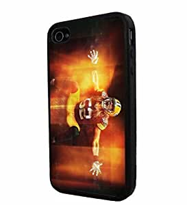 NFL Green Bay Packers Clay Matthews, Cool iPhone 6 Plus 5.5 Smartphone Case Cover Collector iphone TPU Rubber Case Black