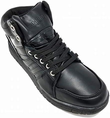 メンズ 冬靴 防水 防滑 3E ハイカット シューズ 885 ノースハイパー