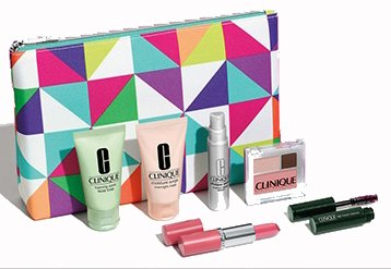 Clinique 7-piece Gift Set 2015 Lord and Taylor, Pinks
