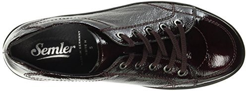 068 Michelle Brogues Women's Cassis Red Semler qxnZwn
