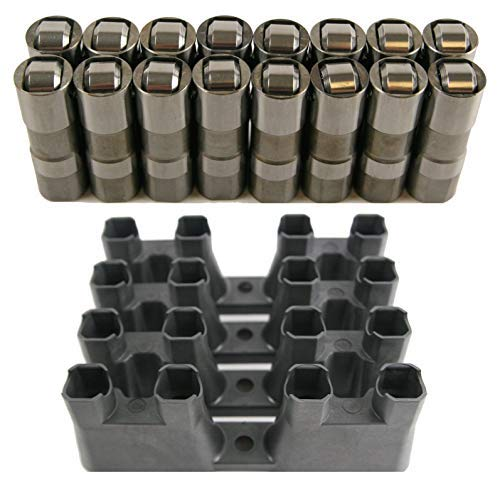 AAA+ U.S.A. New LS7 LS2 16 GM Performance Hydraulic Roller Lifters & 4 Guides 12499225 HL124