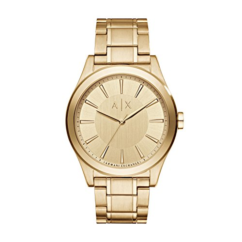Armani Exchange Men's AX2321  Gold  Quartz - Online Exchange Armani