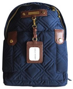 adrienne-vittadini-quilted-nylon-backpack-navy-blue
