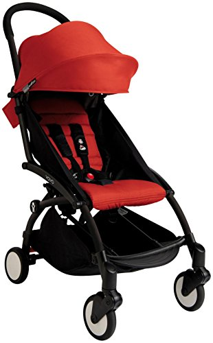 Babyzen YOYO+ Stroller - Black/Red