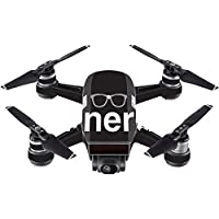 Skin For DJI Spark Mini – Nerd | MightySkins Protective, Durable, and Unique Vinyl Decal wrap cover | Easy To Apply, Remove, and Change Styles | Made in the USA