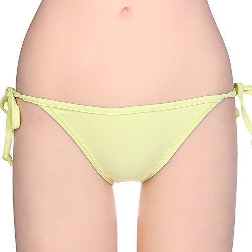 1a03a0ef917b1 KIWI RATA 2018 New Womens Swimwear Sexy Tie Side Sweet Heart Brazilian  Bikini Bottom Hipster Swimsuit