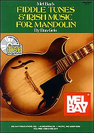 MelBay 42141 Fiddle Tunes Irish Mandolin Book Printed Music