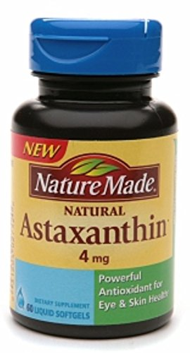 Nature Made Astaxanthin 4mg, Softgel 60 ea (Pack of 7) by Nature Made