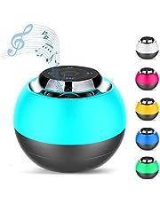 Macrourt Mini Bluetooth Lautsprecher, Kabellos Tragbar Bluetooth Musikbox, Stereo Klang mit tiefem Bass, eingebautem Mikrophone für Freisprechen, AUX und MikroUSB Kabel, unterstützt Micro SD Karte